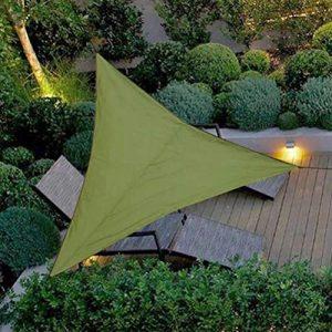 Impermeable A Prueba de Sol Triángulo Toldo Sombra Vela Aire Libre Sombrilla Sombrilla Jardín Patio Piscina Camping Picnic 9