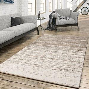 T&T Design Alfombra para El Salón con Moderno Degradado De Color En Crema Y Beige, Größe:160x230 cm 4