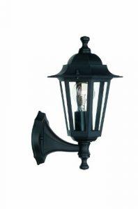 Massive, myGarden Aplique E27,iluminación Exterior, Resistente a la Humedad y la Intemperie, negro 9