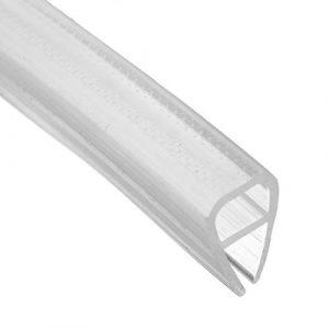 dDanke - Tira de Sellado Transparente para mampara de Ducha (2 m de Longitud, para Cristal de 6 a 12 mm), 10 mm 4