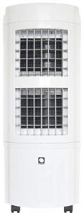 Climatizador Evaporativo MCONFORT E2000. Potencia 90W. Cobertura 30m². Máximo Caudal 2000m³/h. 4 Velocidades. Emisión <50dB. 12,3Kg. Mando a Distancia. Temporizador. Depósito 30L. Pantalla Led 8