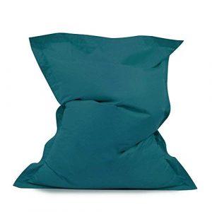 Bean Bag Bazaar - Puf Gigante (Tejido Resistente al Agua, fácil de Limpiar, para Uso en Interiores y Exteriores, Poliuretano) 7
