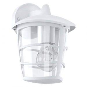 Eglo ALORIA Outdoor wall lighting E27 Color blanco - iluminación al aire libre (Outdoor wall lighting, Color blanco, Aluminio, De plástico, IP44, Entrada, Jardín, Patio, 1 bulb(s)) 10