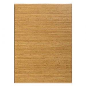 Hogar y Mas Alfombra de Salón o Comedor, Marrón de Bambú Natural 180 x 250 cm Natur 180x250 9