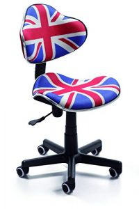 Silla de oficina juvenil, color british 1