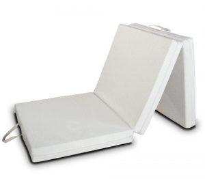 EvergreenWeb Futon Easy colchón, Plegable, Ahorro de Espacio, Plaza Individual (80x200) 1