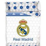 BABYCHISPITAS EDREDON NÓRDICO Real Madrid Escudo CENTRADO 180X260 11