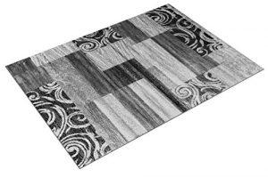 T&T Design Alfombra De Salón Económica De Diseño Patchwork En Gris Crema, Größe:160x220 cm 8