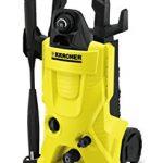 Kärcher K 4 HOME Vertical Eléctrico 420l/h 1800W Negro, Amarillo Limpiadora de alta presión o Hidrolimpiadora - Limpiador de alta presión (Vertical, Eléctrico, 6 m, Negro, Amarillo, 420 l/h, 130 bar) 13