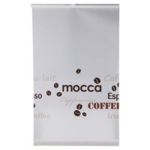 Easy Fix-Estor en 60x 150cm y 75x 150cm Decoración Coffee o baño de Gardinia y pegar, café, 60 x 150 cm 3