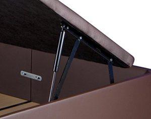 KAMA HAUS   Pack de 2 Sistemas de Elevación Completos con Amortiguadores para Canapé Abatible 7
