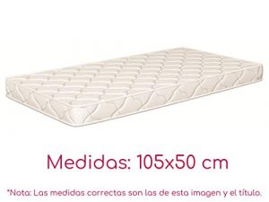 NATURALIA - Colchon cuna thermofress, talla 105x50cm, color blanco 8