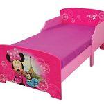 Fun House 712861Disney Minnie Paris Cama Infantil 140x 70cm con Listones, MDF, 144x 77x 59cm 15