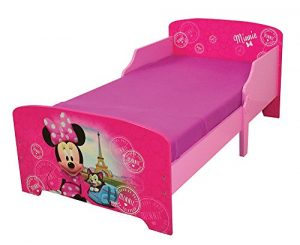 Fun House 712861 Disney Minnie Paris Cama Infantil 140 x 70 cm con Listones, MDF, 144 x 77 x 59 cm 9
