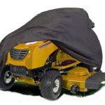 HBCOLLECTION Funda protectora para tractor cortacesped impermeable y resistante tamaño XXL 13
