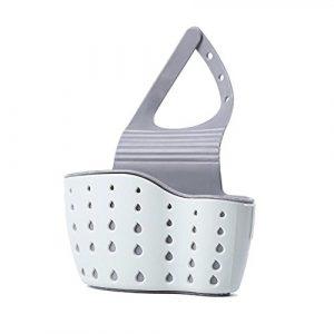 Esponja Soporte, organizador para Sink Drain Rack Basket Hanging de soporte de grifo para cocina y baño, color verde 4