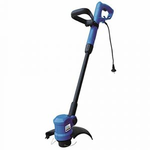 Guede 95154 CA eléctrica 350W cortadora de césped - Cortacésped (Electric AC, Negro, Azul) 10