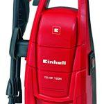 Einhell TC-HP 1334 - Hidrolimpiadora, sistema jet-click, 100 bar, 40° C, 1300 W, 220-240 V, color rojo y negro 12