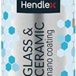 Hendlex Cristal & Cerámica 100 ml Universal repelente al agua autolimpiable Hydrophobic Nano Revestimiento Sellador Protección contra Líquido 12