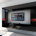 HomeDirectLTD Future 29, Conjunto de Muebles De Salón, Módulo Bajo para TV Y Multimedia, Unidad de Entretenimiento, Mueble TV, Suite a Estrenar (Iluminación RGB LED Opcional) (29_HG_B_1, Mueble) 12