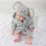 Baby Pajamas, toalla de baño con capucha para bebé de alta calidad, suave y cómoda, diseño de dibujos animados small gris 13