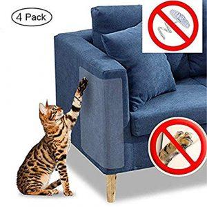 Andy Mr Cat Scratch Furniture, 4 Protectores de Vinilo para Mascotas de Alta Calidad, Flexible, para Proteger la tapicería, Paredes, colchón, Puerta 6