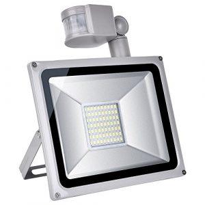 10W//30W/50W/100W luz Foco LED foco exterior - Luz del sensor (aluminio IP65, impermeable) (50) 4