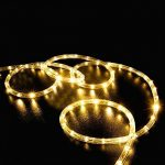 Solar Rope Lights, EONANT 39ft / 12M 100LED Impermeabilice las Luces de Cadena de Alambre de Tubo de Cobre para Jardín, Patio, Camino, Cerca, Escaleras, Patio Trasero, Patio Decorativo (Warm White) 13