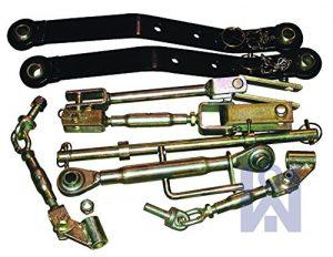 Kit de mecanismo de elevación Iseki, enganche de tres puntos, para tractor utilitario 1