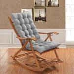 OR&DK Cojín Plegable sin Silla, Cojín de Espesor Mecedora Cojín sillón con Correa Almohadilla Antideslizante Tatami-E 48x120cm(19x47inch) 4