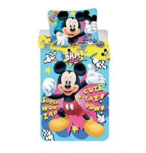 Jerry Fabrics Juego de Cama para Niños con Cremallera, Diseño Mickey and Friends, Poliéster, 200x140x0.5 cm 8