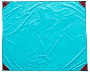 ZOLLNER Alfombra para Playa y Picnic Impermeable, en Azul o Rojo, 135x165 cm 10