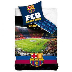 FCB FC Barcelona Camp NOU - Juego de Funda nórdica y Funda de Almohada (algodón), diseño del FC Barcelona 7