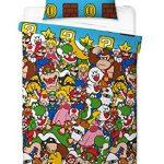 Super Mario - Funda de edredón, Multicolor, 200 x 130 cm 11