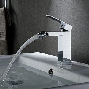 Bidé grifo, Auralum baño grifo grifo de bidet 360° para bidé bidé cuarto de baño 7