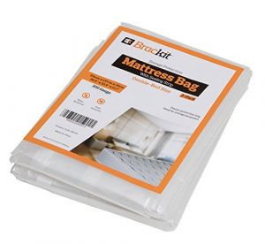 Bolsa de colchón para almacenamiento - Tamaño doble 200 g. 231cm x 137cm x 35cm. Paquete de 2 unidades. 5