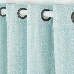 PimpamTex - Cortinas Jacquard Semi Opacas para Salón, Dormitorio y Habitación, con 8 Ojales, 140 x 260 cm, Modelo Jacq. Chenilla Flecha - (Verde, 1) 14