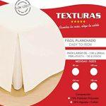 BASIC HOME by TEXTURAS Cubrecanapé Loneta Fuelle Inglés Crudo ( Varios tamaños disponibles ) (CAMA 105) 17