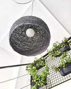 Lámparas de Techo Colgantes Modernas Nórdicas Minimalistas Diseño Escandinavas Niños Comedor Habitación Salón Hotel Restaurante Loft Hecha a Mano Decorativa - HALF SPHERE 10