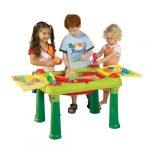 False Keter 17184058 - Mesa de Juegos Infantil con Compartimentos para Agua y Arena 12
