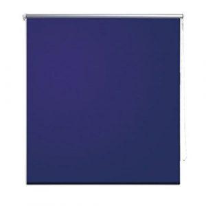 vidaXL Persiana Enrollable Apagón 60 x 120 cm Marino/Azul Estor para Ventanas Persiana 4