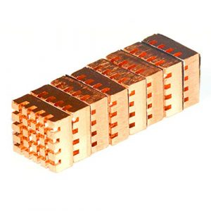 Fregadero de Cobre con Tarjeta gráfica de Calor pasiva para el Fregadero VGA RAM, refrigeración de disipadores de Calor, 8 Unidades 6