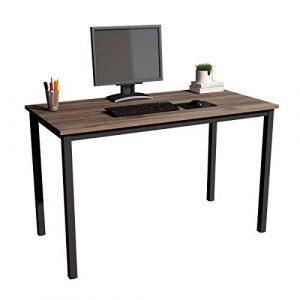 soges 120x60cm Escritorios Escritorio de Oficina Mesa de Estudio Mesa de Ordenador Puesto de Trabajo Mesa de Despacho,GCE1AC3-120BW 4