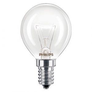 Juego de 2 bombillas para horno de 40 W, SES E14, de rosca pequeña, 300 °C, aptas para AEG, Bosch, Siemens, Neff y Hotpoint, de la marca Philips 5