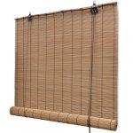 Festnight Persiana Estor Enrollable de Bambú 100 x 160 cm 12