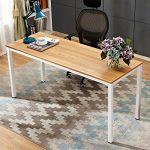 Need 160x60cm Escritorios Mesa de Ordenador Escritorio de Oficina Mesa de Estudio Puesto de Trabajo Mesa de Despacho, AC3BW-160-3 14