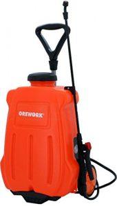 Orework 373735 Pulverizador eléctrico Trolley (con Ruedas) 16l, Naranja 4