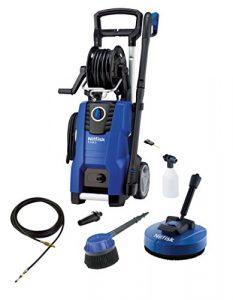 Nilfisk E 140.3-9 PAD X-TRA Vertical Eléctrico 500, 450l/h 2100W Negro, Azul Limpiadora de alta presión o Hidrolimpiadora - Limpiador de alta presión (Vertical, Eléctrico, 9 m, 5 m, Negro, Azul, Aluminio) 8