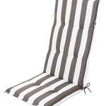 Schwar Textilien - Cojín para Silla con Respaldo Alto, diseño de Rayas, 3 Colores 18