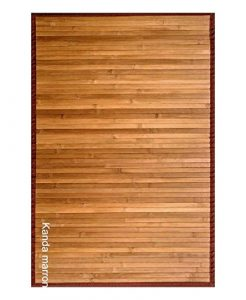 Clara Vidal Bertha Hogar - Alfombra Bambú Kanda, 120x180 cm, marrón 7